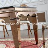 Banquet de haute classe Table à manger rectangulaire pour la maison utilisé