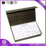 Caixa de presente de papel luxuosa do cartão de Debossing para o empacotamento cosmético