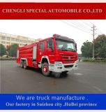 12000L水消火器のトラック