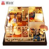 2017 아이 큰 나무로 되는 장난감 DIY Yizhi 인형 집