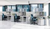현대 중대한 저장 4 사람을%s 나무로 되는 사무실 칸막이실 (SZ-WS668)