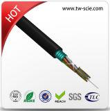 Alumínio exterior/aço fabricante do cabo de fibra ótica monomodo para uso do Duto