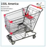 150L het Winkelen van het Boodschappenwagentje van de Stijl van Ameriac Karretje