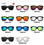 Lunettes de soleil de lunetterie de créateur de cru en verre d'hommes de femmes