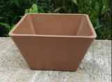 Eco-Friendly 대나무 섬유 정원, 생물 분해성 Compostable 가정 훈장 화분 (BC-FP1013)