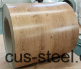 Farben-Stahl-Ringe des Matt-Deckel-PPGI/PPGL/Wooden/hölzernes Muster PPGI