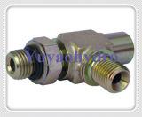 Acessórios de tubos hidráulicos Bsp de 60 graus