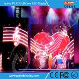 Полноцветный Р1.923 HD LED видео для этапа на стене