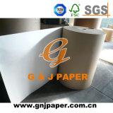 Papier d'emballage non-enduit latéral simple de bonne qualité en emballage de roulis
