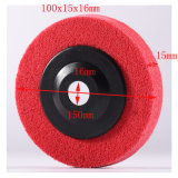 100X15mm 6p Portable Chop Saw Cutting Machine Safety Non Woven Grinding Disc