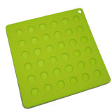 Vierkant Non-Skid BPA Vrij Silicone Placemat Tablemat