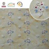 Projeto novo do laço 2017 delicados da flor do bordado para o vestido C10006 de Wedding&Lady