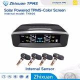 새 모델 태양 무선 TPMS 타이어 압력 모니터 시스템 온도 탐지 USB 책임