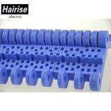Flache Platten-hitzebeständiger Plastikmatten-Oberseite Conveyo Riemen