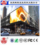 Schermo impermeabile di risparmio di energia LED definizione esterna della visualizzazione P10 di alta