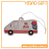 Kundenspezifisches Firmenzeichen-Großverkauf-Papier-Auto-Luft-Erfrischungsmittel für förderndes (YB-HD-79)