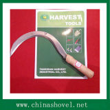 Hand Tool Wood Handle Sickle Agricultural Tool