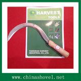 Outil à main Poignée en bois Sickle Agricultural Tool