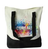 Long sac organique promotionnel personnalisé de coton du traitement 100%