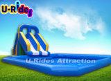 Parc nautique gonflable océan Dolphin avec jouets aquatiques
