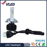 Nuevo diseño High Power 40W 4000lm H4 coche LED faro