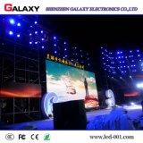 De aluminio a presión la visualización de pared video de interior a todo color del alquiler LED de la fundición para el uso de la etapa