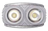 5 anni alettati di alluminio della garanzia IP67 1000 di watt LED di indicatore luminoso di inondazione
