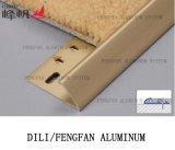De Toebehoren Carpetstrip van de Decoratie van het aluminium aan het Tapijt van de Rand