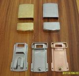 Plaque en métal et partie en acier inoxydable ou en laiton