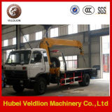 Dongfeng Tow Wrecker Truck with Crane 8 Ton