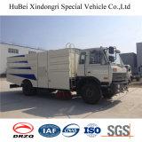 carro del barrendero de camino de la succión de la basura de 7cbm Dongfeng Euro4