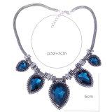 Ювелирные изделия ожерелья чокеровщика кристаллический сердца диаманта сбор винограда способа привесные