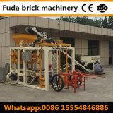 Bloco comprimido da terra/máquina tijolo contínuo/máquina do pavimento