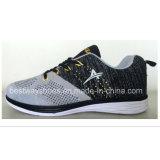 Zapatos ocasionales del deporte con los zapatos superiores atléticos de la zapatilla de deporte de los hombres superiores de Flyknit