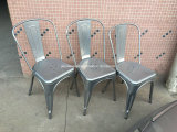 금속 Tolix 쌓을수 있는 산업 옆 의자 (JY-R31)