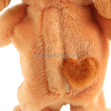 Cute Electronic Plush Dog Soft Stuffed Animal Toys pode ser personalizado