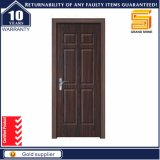 カスタム木製デザイン内部ガラスの外部の固体木のドア
