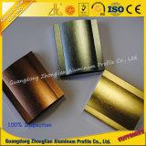 Perfil de alumínio escovado personalizado da extrusão da alta qualidade fabricantes de alumínio