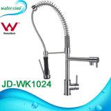 Le mélangeur de cuisine de Jd-Wk1024muti-Function retirent le robinet en laiton de bassin de chrome