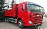 Nuovo autocarro a cassone pesante della Hyundai 6X4 con un caricamento di 30 tonnellate