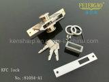 ZL-81054-A1 de la venta caliente de la aleación de aluminio de la puerta cilindro de la cerradura Muerto