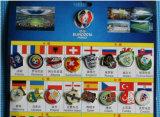 De Reeksen van de Speld van de Voetbal van het Email van het Metaal van de douane voor de Giften van de Bevordering
