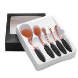 Набор 5 инструментов комплекта щеток состава формы зубной щетки PCS овальный косметический