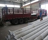 中国は電気鋼鉄ランプのポストに電流を通した