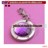Promotion Gift Purple Purse Hanger with Keychain Les meilleurs articles promotionnels (G8068)