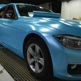 1.52 * 20m Popular vendiendo auto-adhesivo impermeable burbuja de aire libre PVC coche etiqueta relámpago metálico coche vinilo envoltura