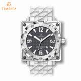 方法ブレスレットはMen72407のためのアナログ時計の多彩な腕時計を遊ばす