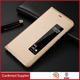 Alta qualidade PU Leather Book Style Cover Phone Case para Huawei P10