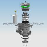 4 toneladas de válvula de controle automática do filtro de água do agregado familiar com indicador do LCD