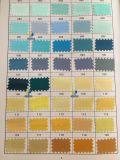 폴리에스테 공단 직물, 공단 실크 직물, 강선전도 공단, 선택할 것이다 당신을%s 500의 색깔! (색깔 도표 1)